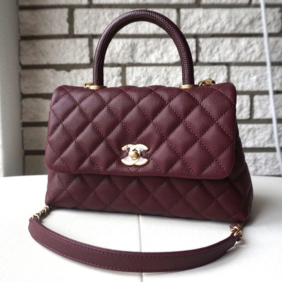 6a186ed417f1 CHANEL Handbags - CHANEL Coco Handle